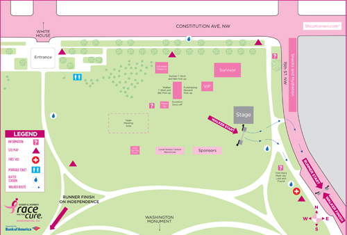 DCR 2015 Site Map