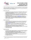 How to Host a Fundraising Party